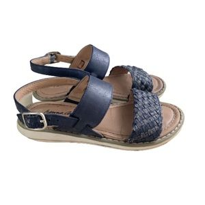 Hanna Andersson Faye Braided Sandals Size 10M